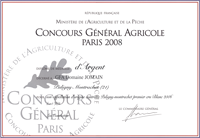 Concours General Agricole 2008